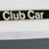 Club Car Name Plate
